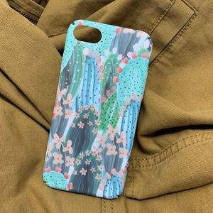 iPhone 7/8 Case, Cactus/Nature Design